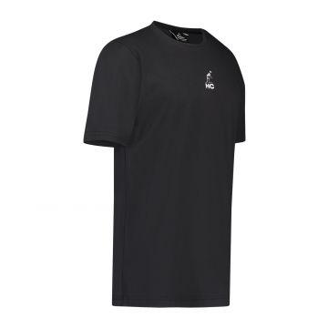 Australian Hard Court T-shirt Hardchaelogy Tribe Culture kangoeroe skelet   zwart