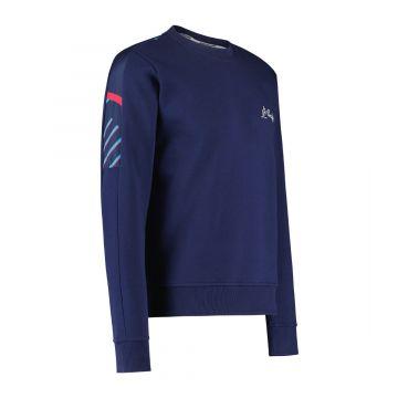 Australian sportswear crewneck lines | cosmo blauw