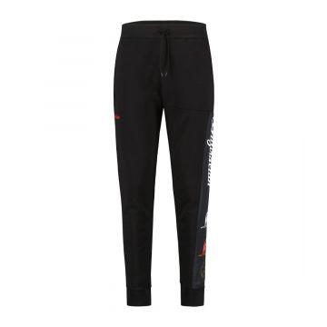 Australian sportswear joggingbroek tape logo | zwart