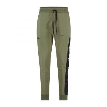 Australian sportswear joggingbroek tape logo | olijfgroen