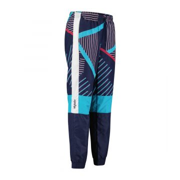 Australian sportswear trainingbroek lines | cosmo blauw