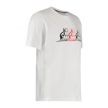 Australian sportswear T-shirt kangaroos | wit