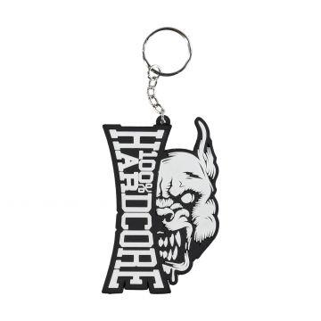 100% Hardcore porte-clés branding rage | noir - blanc