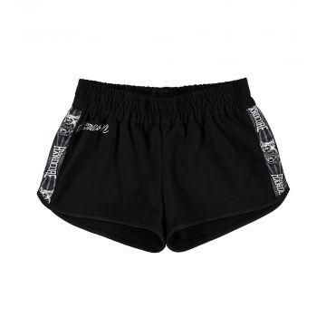 100% Hardcore hotpants pour femmes WEAR IT WITH PRIDE | noir