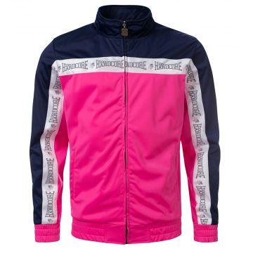 100% Hardcore veste d'entraînement Authentic   rose - bleu