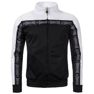 100% Hardcore veste d'entraînement Authentic   noir