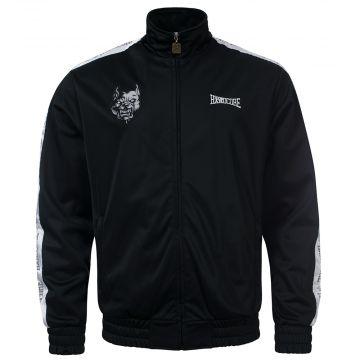 100% Hardcore veste d'entraînement Branded   noir