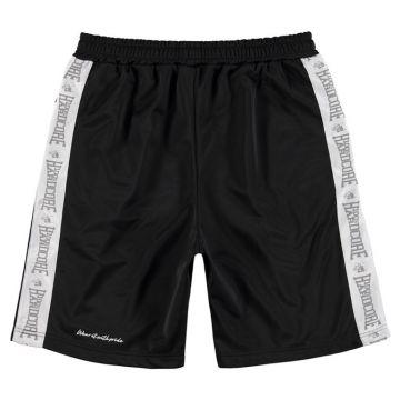 100% Hardcore Pantalon court Branded | noir