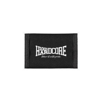 100% Hardcore portefeuille | the brand ☓ noir