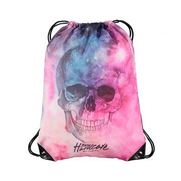100% Hardcore sac en ficelle dream   couleurs de la galaxie