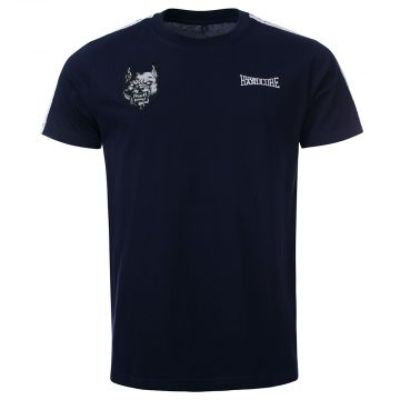 100% Hardcore T-shirt branded | bleu