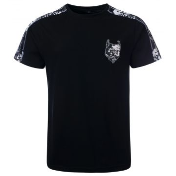 100% Hardcore T-shirt Rage Track | noir