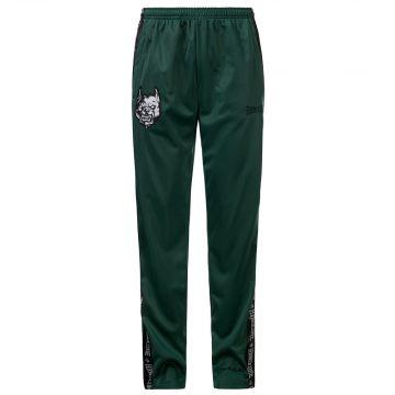 100% Hardcore pantalons de survêtement Branded | vert