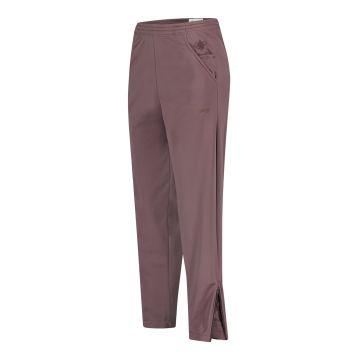 Cavello oldschool pantalon uni avec logo de poche et logo brodé | aubergine 33