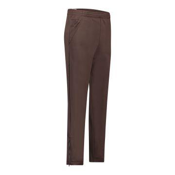 Cavello oldschool broek uni met logo bij broekzakken en borduring | bruin 34