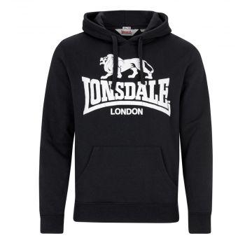 Lonsdale hooded sweater Go Sport 2   zwart