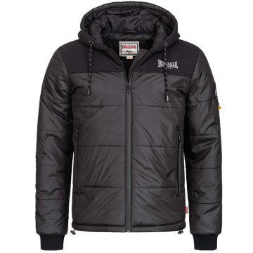 Lonsdale veste homme à capuche Botallack  noir