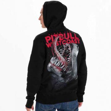 Pit Bull hooded sweater since 89 | zwart