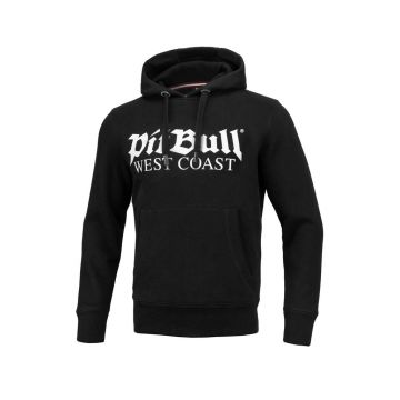 Pit Bull ancien logo pull à capuche | noir
