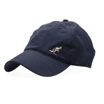 Australian casquette avec logo argenté et broderie | bleu marin