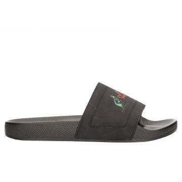 Australian pantoufles   logo traditionnel X noir
