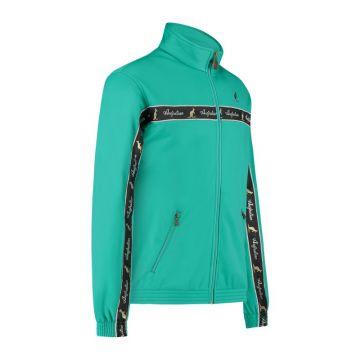 Australian veste bande poitrine noire 2.0 | turquoise