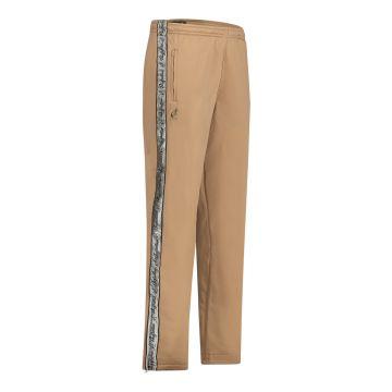 Australian pantalon avec bande argentée et 2 fermetures éclair 2.0 | bronze