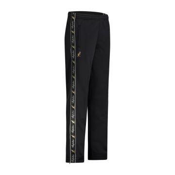 Australian pantalon avec bande noire et 2 fermetures éclair 2.0 | noir