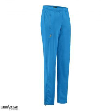 Australian pantalon avec 2 fermetures éclair uni | bleu capri