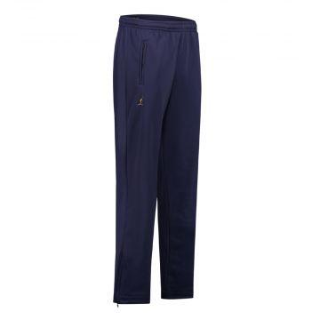 Australian pantalon avec 2 fermetures éclair uni | bleu cosmo