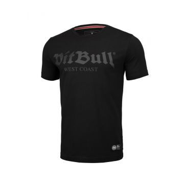 Pit Bull T-shirt slim fit ancien logo | noir