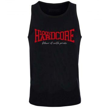 100% Hardcore débardeur pour hommes Classic | noir