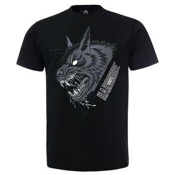 100% Hardcore T-shirt LUPO | noir