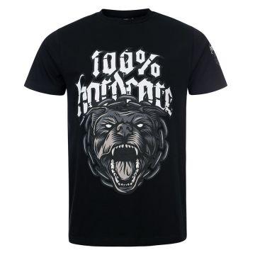 100% Hardcore T-shirt Rottweiler | zwart