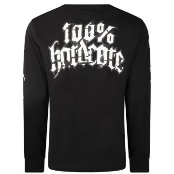 100% Hardcore longsleeve Rottweiler | zwart