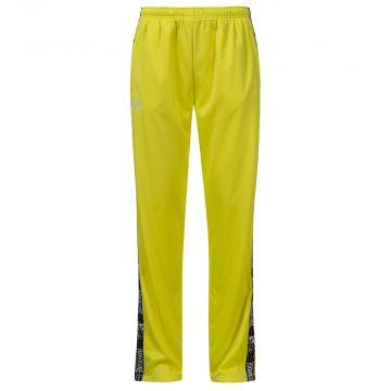 100% Hardcore pantalon de jogging avec bande CLASSIC | jaune