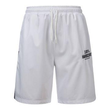 100% Hardcore short avec bande UNITED SPORT | blanc
