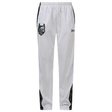 100% Hardcore pantalons de survêtement Branded | blanc