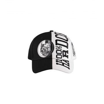 100% Hardcore casquette authentic | noir et blanc