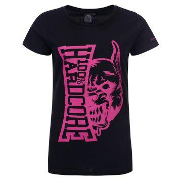 100% Hardcore T-shirt dames Rage | noir