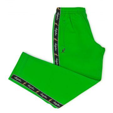 Australian pantalon bande noire | vert kawasaki