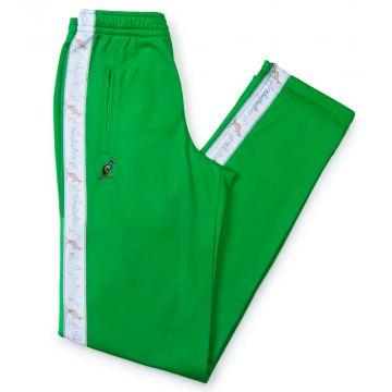 Australian pantalon bande blanche | kawasaki vert