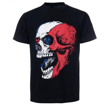 Frenchcore T-shirt toxic death | noir