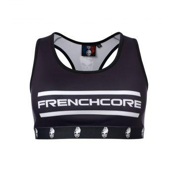 Frenchcore haut de sport the brand | noir