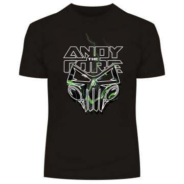 Andy The core T-shirt green skull | Limited edition