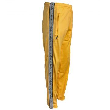Australian pantalon avec bande argentée | jaune tournesol