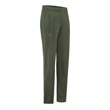 Australian pantalon avec 2 fermetures éclair uni | olive verte