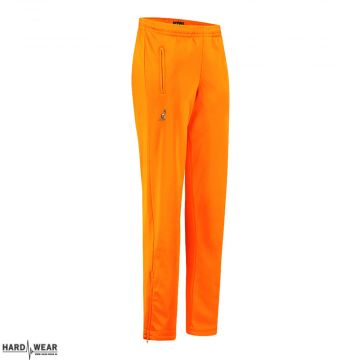 Australian pantalon avec 2 fermetures éclair uni | orange fluo