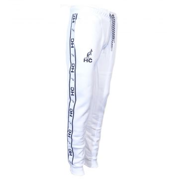 Australian Hardcourt pantalon de survêtement avec bande HC   blanc