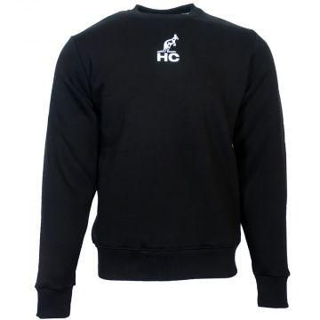 Australian Hardcourt chandail avec impression patch brodé et logo HC   noir